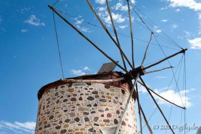 Old Greek Windmill